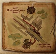 Карта для контактов